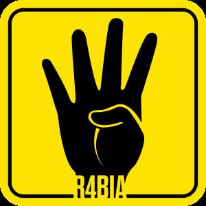 r4bia rabia رابعة العدوية لوجو logo